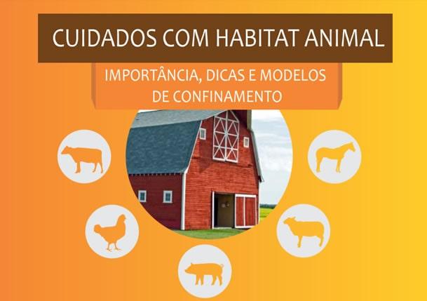 Ebook: Cuidados com o Habitat Animal